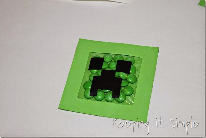 Minecraft Creeper DIY Valentine and Party Favor (10)