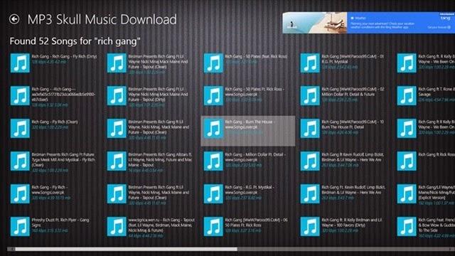 descargar musica mp3 gratis windows phone