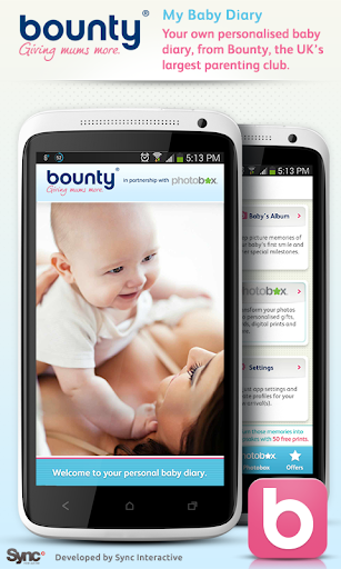 Baby Diary by Bounty