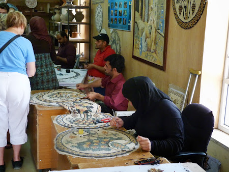 Mozaicarii din Iordania