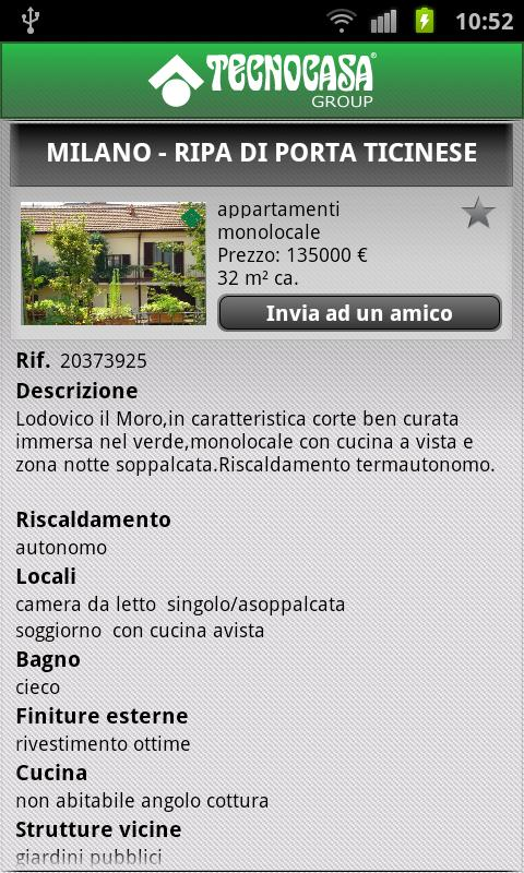 Tecnocasa Group - screenshot