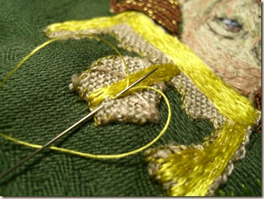 easy Split Stitching with silk
