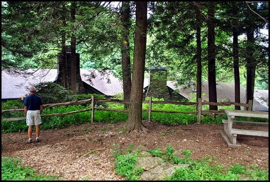 07 - Viewing and Picnic area behind building