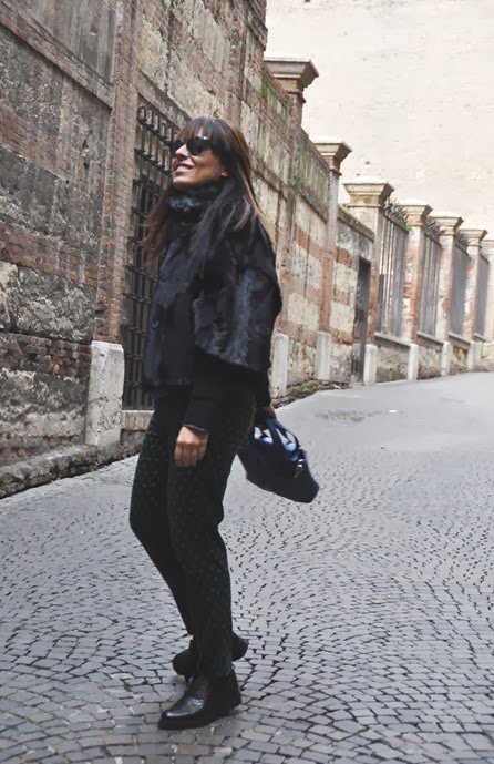 outfit, pelliccia, classe e220 mercedes benz, italian fashion bloggers, fashion bloggers, street style, zagufashion, valentina coco, i migliori fashion blogger italiani