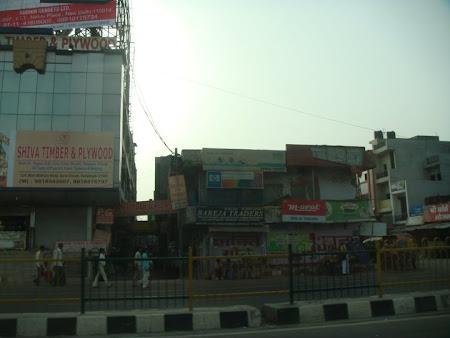 Imagini India: strazi din Delhi