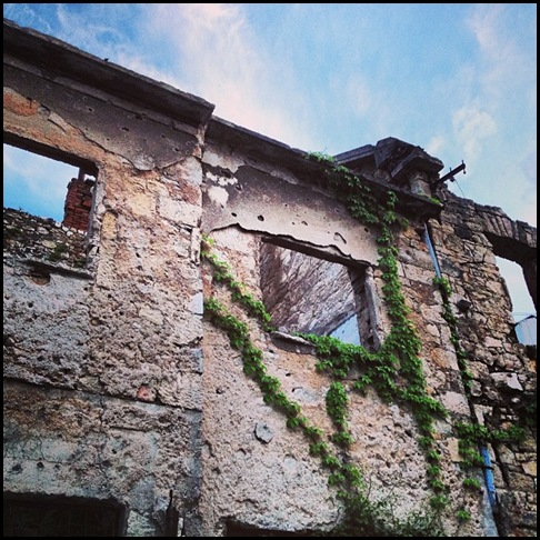 Damaged beyond repair, Mostar
