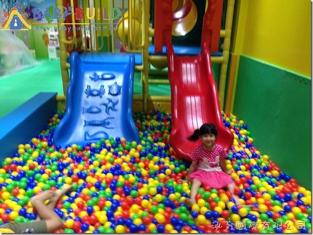 BabyBuild 彩色球池