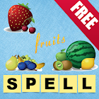 Kids Learn to Spell (Fruits) icon
