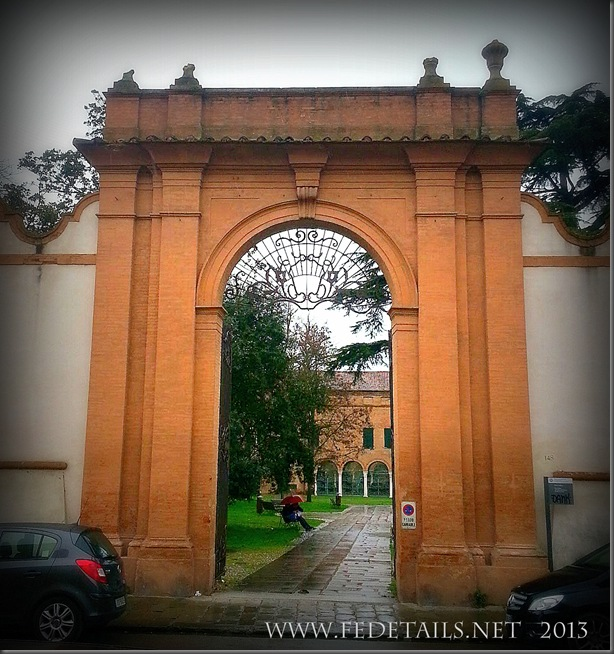 Parco Pareschi, photo 2, Ferrara,Emilia Romagna,Italy - Property and Copyrights of FEdetails.net