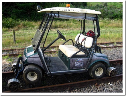 Our mode of transport for the rail adventure.