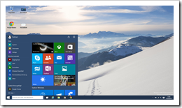 Windows 10 Screenshot 6 - Technical Preview 9926