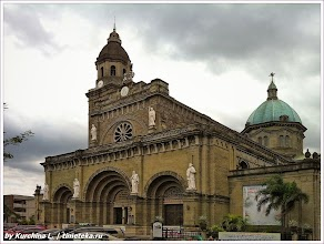 Manila Metropolitan Cathedral. Филиппины. Фото Курчиной Л. www.timeteka.ru
