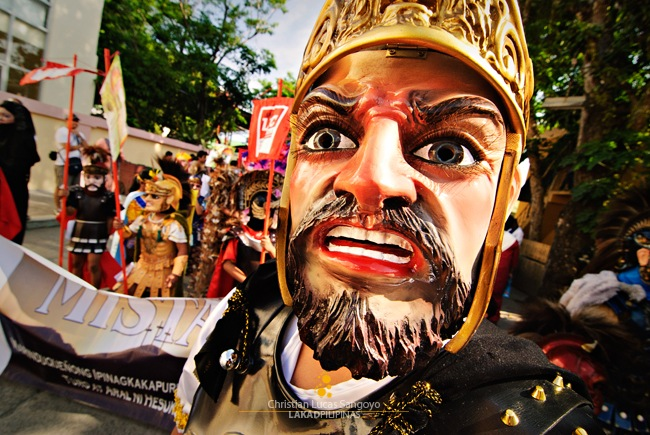 A Gaping Morion Out on Marinduque's Street