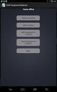 HVAC Equipment Notebook Free- screenshot thumbnail