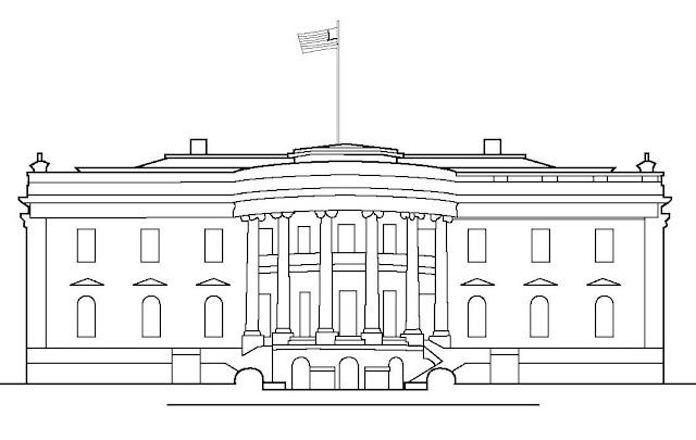 Dibujo Casa Blanca