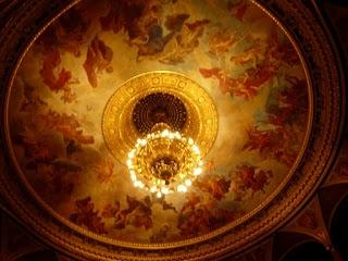 Plafond de l'Opéra de Budapest