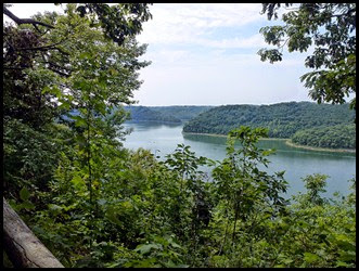 01e - Lost Springs Trail - View from above the Caney Fork River