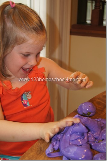 Sensory Fun - Slime Recipe