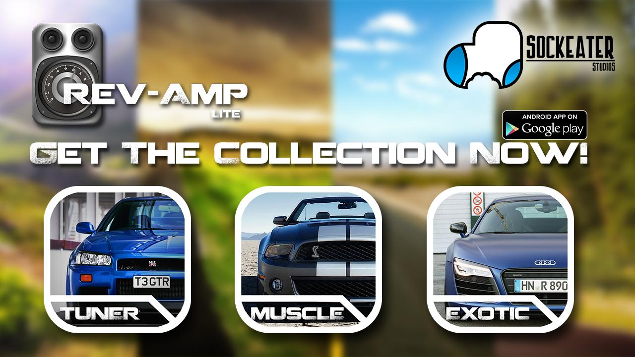 Rev-Amp: Car Sounds Lite - screenshot