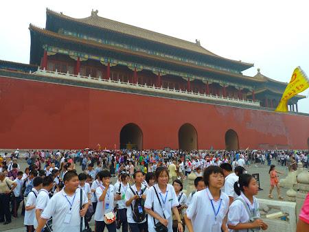 Obiective turistice Beijing: Poarta Tienanmen