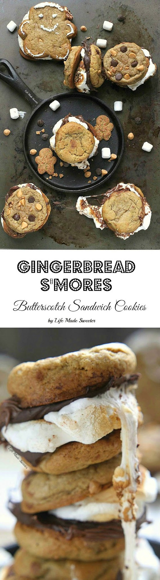 Gingerbread Butterscotch S'mores Sandwich Cookies -- from @LifeMadeSweeter #ChipitsHoliday.jpg