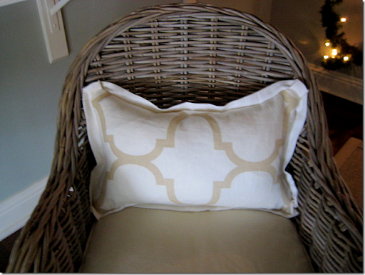 In Each Chair, She Had Lumbar Pillows Made Of The Riad Fabric From Windsor  Smith For Kravet.