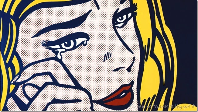 Crying Girl (1964) by Roy Lichtenstein