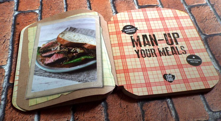 parragon book review Man Up Your Meals 1