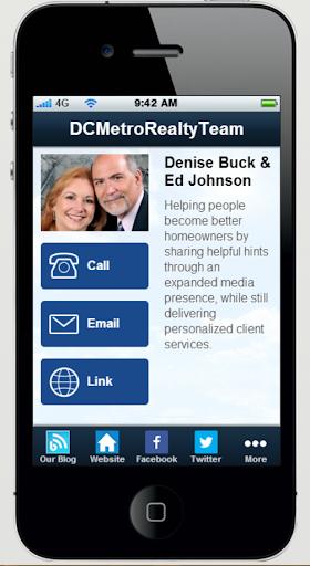 【免費商業App】DC Metro Realty Team-APP點子