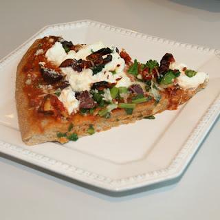 Ricotta & Rapini Pizza.