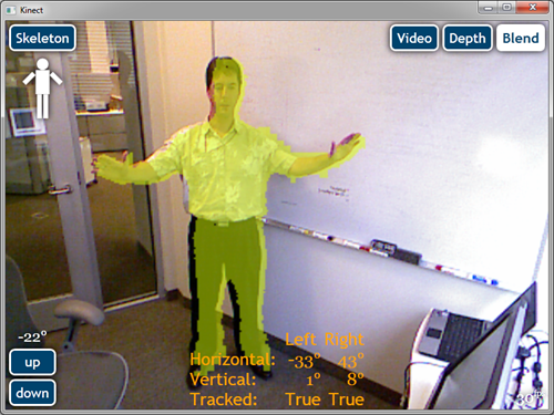 Kinect Control for WPF