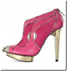 Red Bootie Shoes Stockists