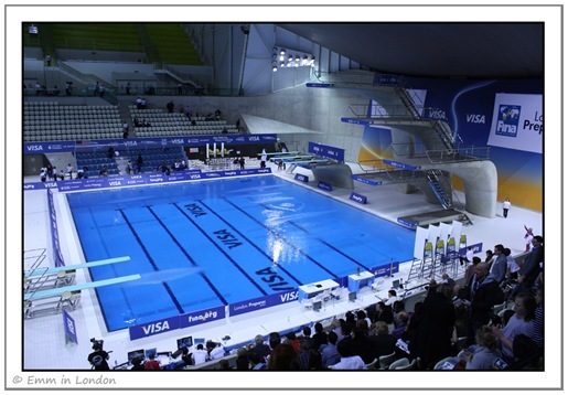 Diving Pool Olympic Aquatics Centre