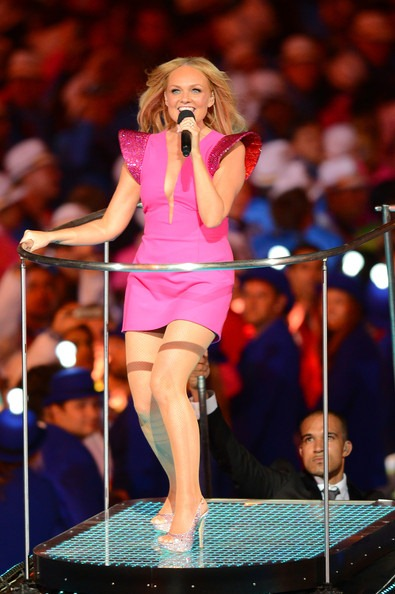 Emma Bunton 2012 Olympic Games Closing Ceremony