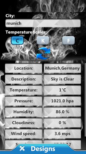 大麻时钟和天气小工具