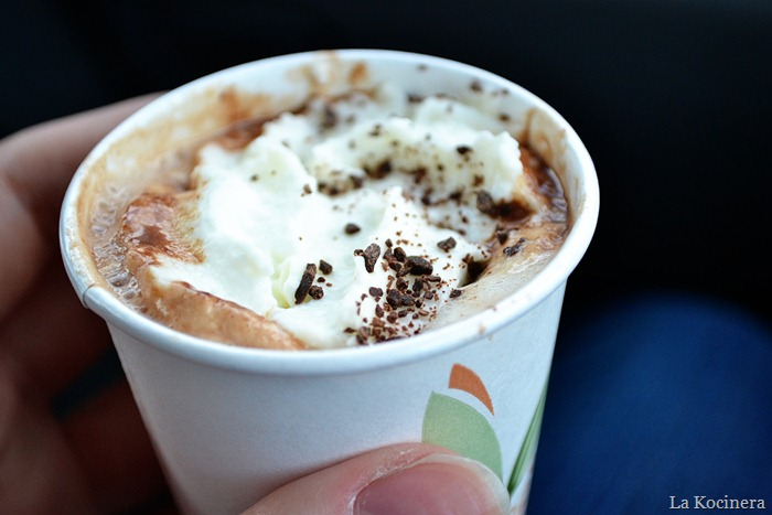 hot chocolate shot