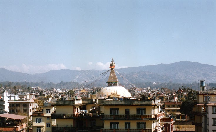 Obiective turistice Nepal: Hotel Hyatt Kathmandu.jpg