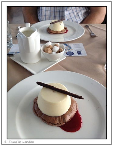 Bateaux London Lunch Time Cruise - dessert