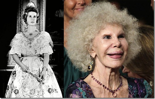 Duchess of Alba, Valencia, Spain - 19 Mar 1964...Mandatory Credit: Photo by Agencia EFE / Rex Features ( 1406790a )<br /> Duchess of Alba Cayetana Fitz-James Stuart<br /> Duchess of Alba, Valencia, Spain - 19 Mar 1964<br /> The Duchess of Alba is elected Fallera Mayor - (Queen of Las Fallas) - de la Plaza del Mercado.<br />