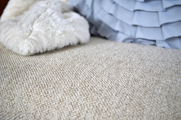neutral reupholstery fabric