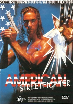 American street fighter poster