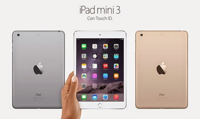 iPad Mini 2 vs iPad Mini 3 la misma cosa pero en diferente envoltura