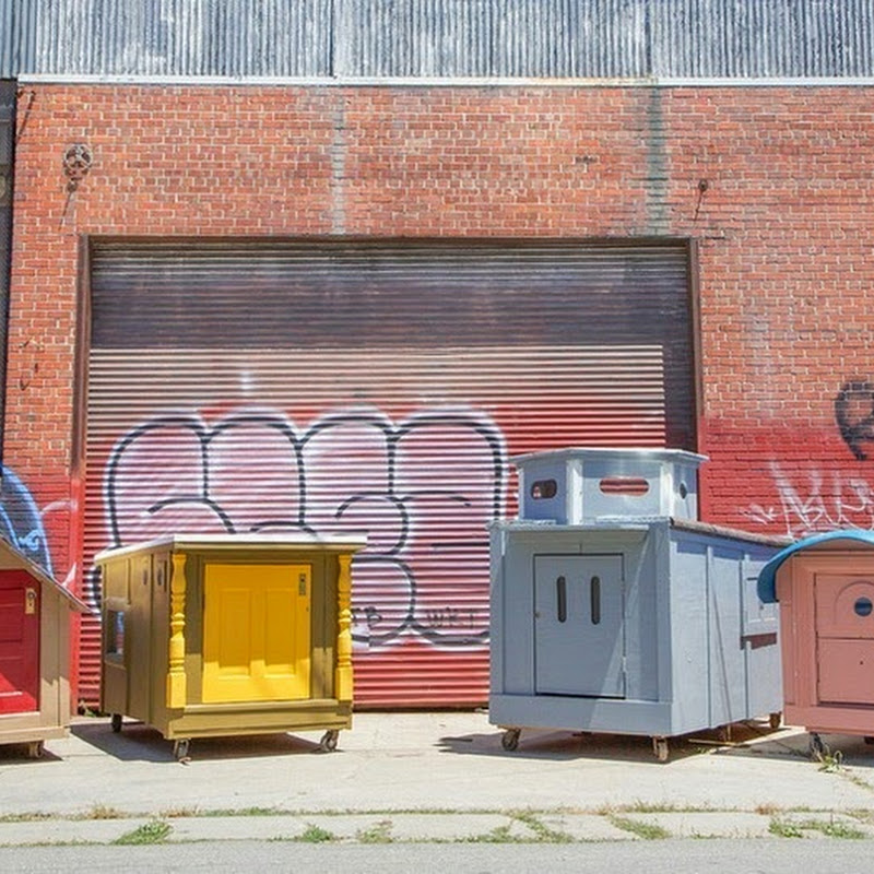 Gregory Kloehn Turns Dumpsters Into Tiny Homes