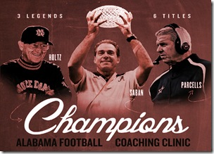 Alabama Coaches Clinic 2012
