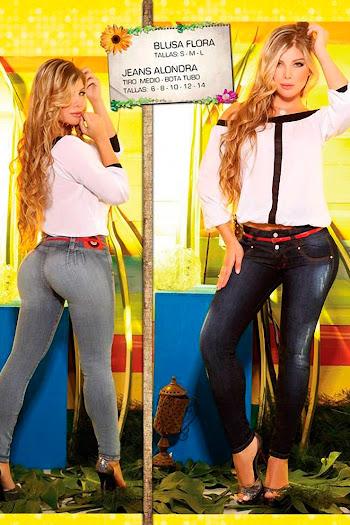 Angelica Jaramillo y Sofia Jaramillo Axxys Jeans Foto 27