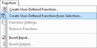 Altova MapForce Function menu