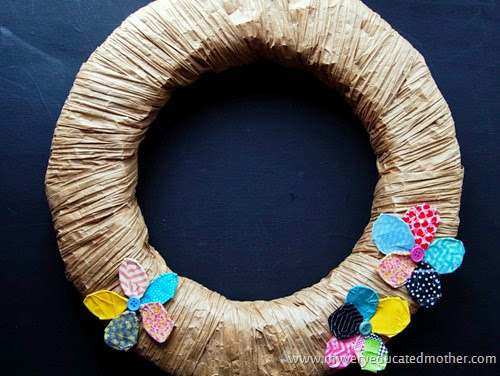 #Wreath #Paperclips #WashiTape #Crafts