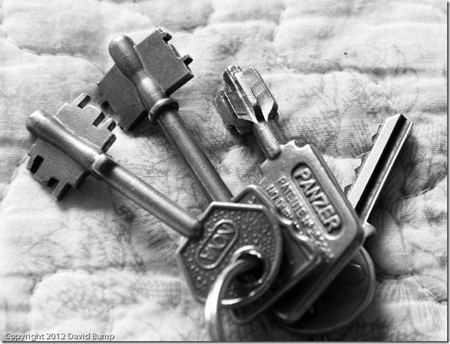 Keys to the apartment in Recoleta