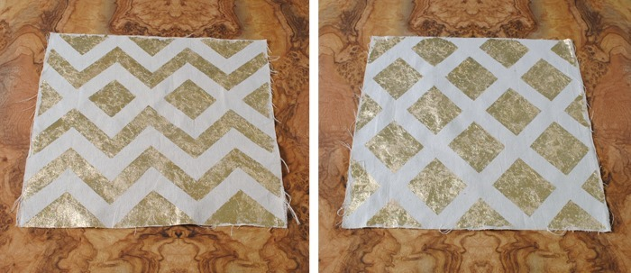 Gold Leaf Pillow Covers | The Gathered Home