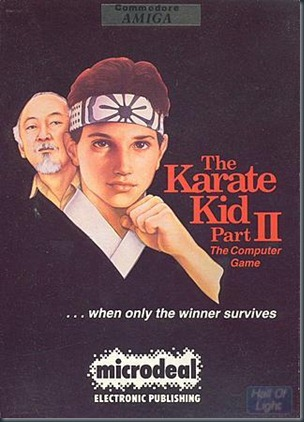 Karate Kid 2 Amiga
